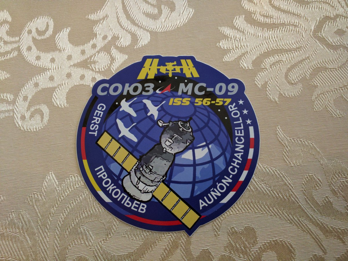 "Aufkleber Mission-Patch ""MS-09"""