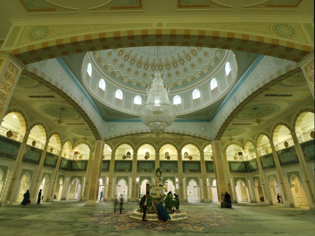 Kleiner Raum in der Hazram-Sultan-Moschee